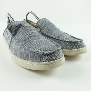 88987d9ef61 TOMS Men Navy Microstripe Aiden Slip On R3S11
